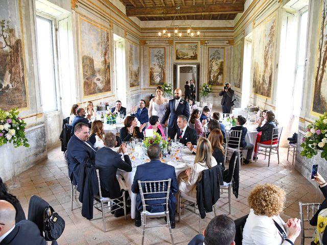 Il matrimonio di Marco e Loredana a Vicovaro, Roma 50
