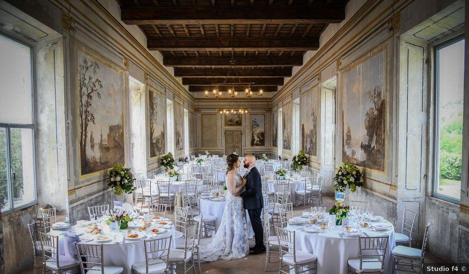 Il matrimonio di Marco e Loredana a Vicovaro, Roma
