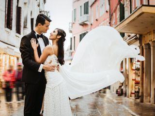 Le nozze di Alessio e Yesenia 1