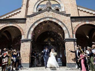 Le nozze di Letizia e Nicola