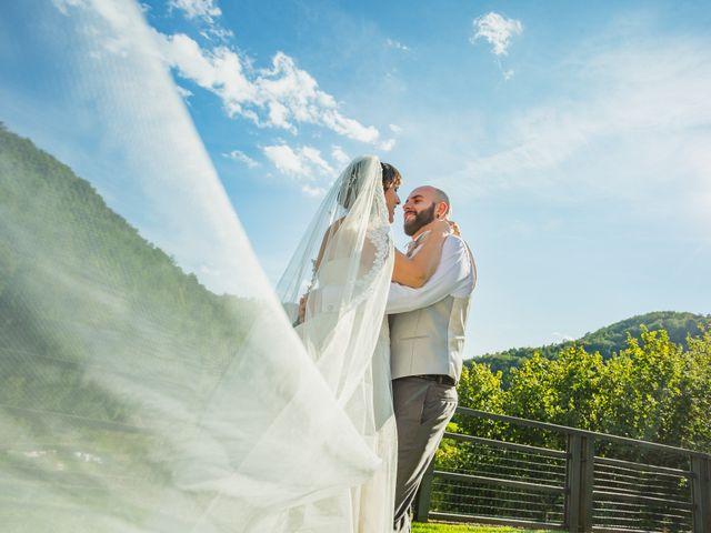 le nozze di Laura e Mattia