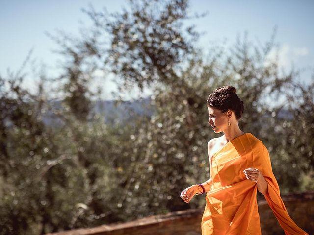 Il matrimonio di Ryan e Katrina a Rapolano Terme, Siena 25