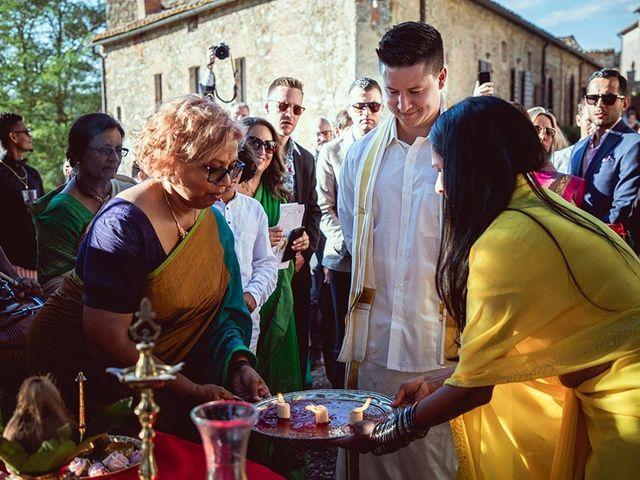 Il matrimonio di Ryan e Katrina a Rapolano Terme, Siena 43