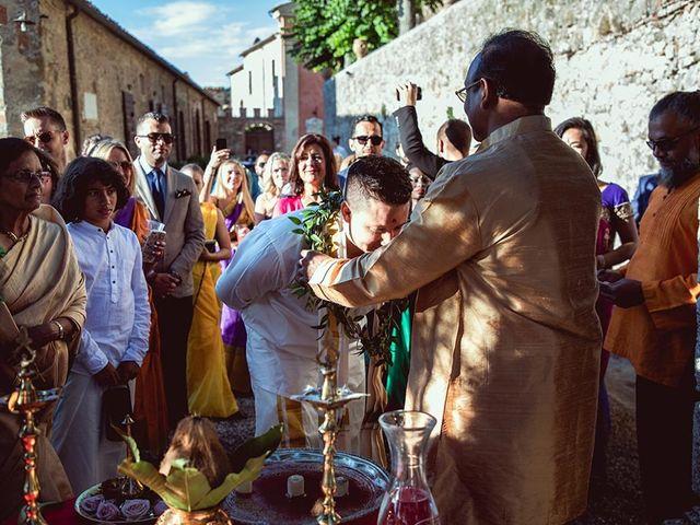 Il matrimonio di Ryan e Katrina a Rapolano Terme, Siena 44