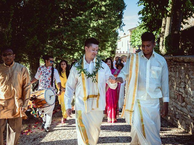 Il matrimonio di Ryan e Katrina a Rapolano Terme, Siena 46