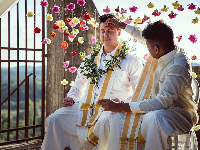 Il matrimonio di Ryan e Katrina a Rapolano Terme, Siena 50
