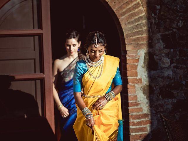 Il matrimonio di Ryan e Katrina a Rapolano Terme, Siena 52