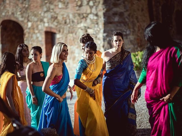 Il matrimonio di Ryan e Katrina a Rapolano Terme, Siena 53