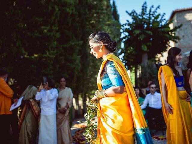 Il matrimonio di Ryan e Katrina a Rapolano Terme, Siena 56