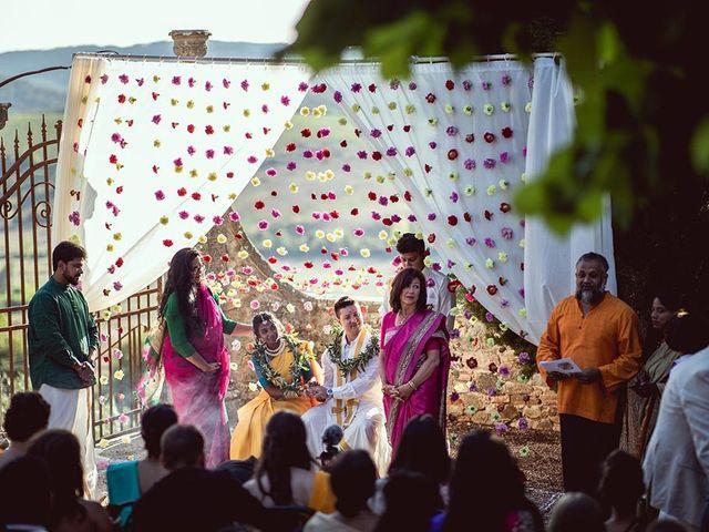 Il matrimonio di Ryan e Katrina a Rapolano Terme, Siena 59