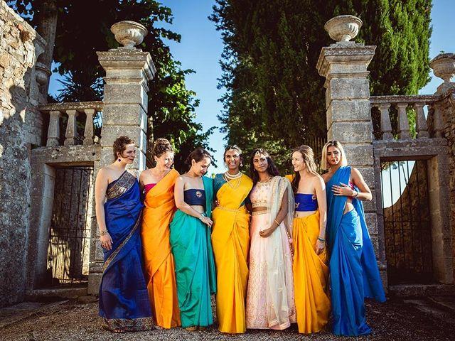 Il matrimonio di Ryan e Katrina a Rapolano Terme, Siena 63