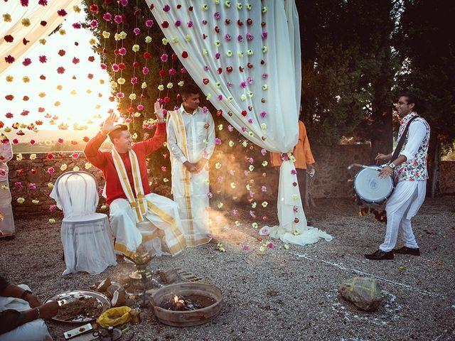 Il matrimonio di Ryan e Katrina a Rapolano Terme, Siena 70