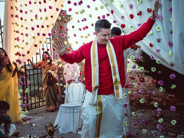 Il matrimonio di Ryan e Katrina a Rapolano Terme, Siena 71
