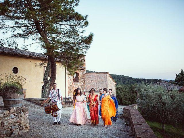 Il matrimonio di Ryan e Katrina a Rapolano Terme, Siena 74
