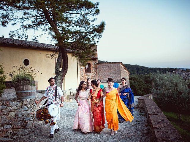 Il matrimonio di Ryan e Katrina a Rapolano Terme, Siena 75