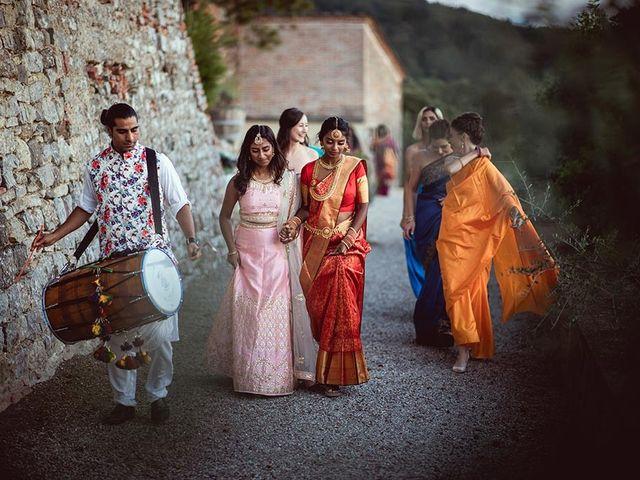 Il matrimonio di Ryan e Katrina a Rapolano Terme, Siena 3