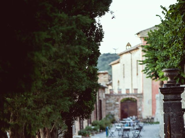 Il matrimonio di Ryan e Katrina a Rapolano Terme, Siena 76