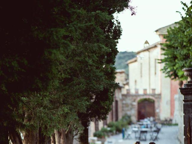 Il matrimonio di Ryan e Katrina a Rapolano Terme, Siena 77
