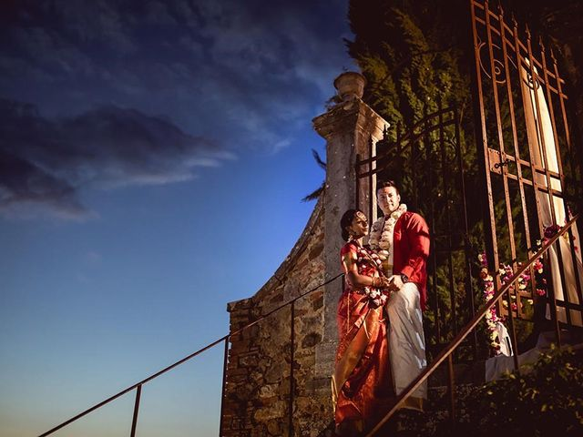 Il matrimonio di Ryan e Katrina a Rapolano Terme, Siena 82