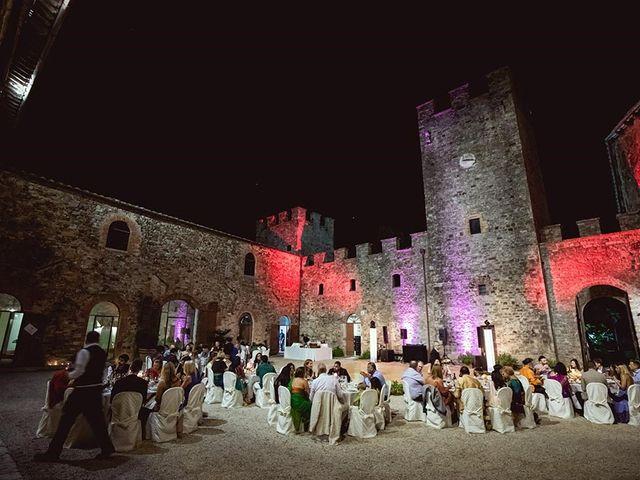 Il matrimonio di Ryan e Katrina a Rapolano Terme, Siena 91