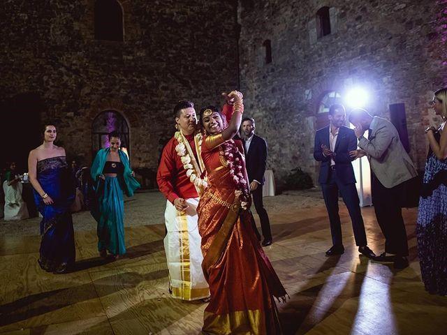 Il matrimonio di Ryan e Katrina a Rapolano Terme, Siena 92