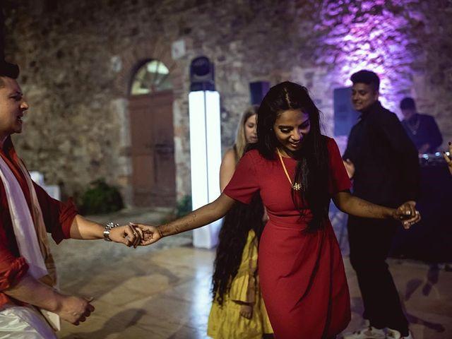 Il matrimonio di Ryan e Katrina a Rapolano Terme, Siena 96