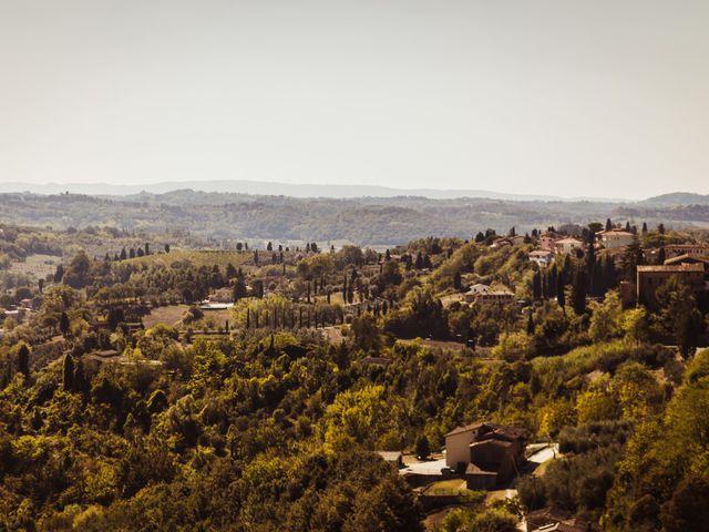 Il matrimonio di Simone e Vittoria a San Miniato, Pisa 1