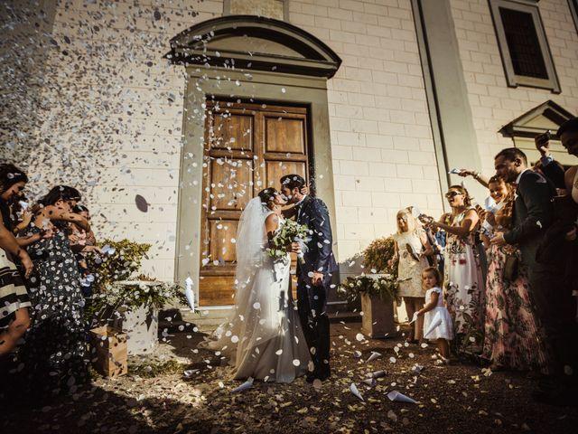 Il matrimonio di Simone e Vittoria a San Miniato, Pisa 42