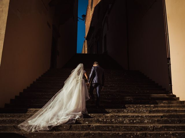 Il matrimonio di Simone e Vittoria a San Miniato, Pisa 45