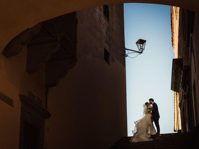Il matrimonio di Simone e Vittoria a San Miniato, Pisa 46