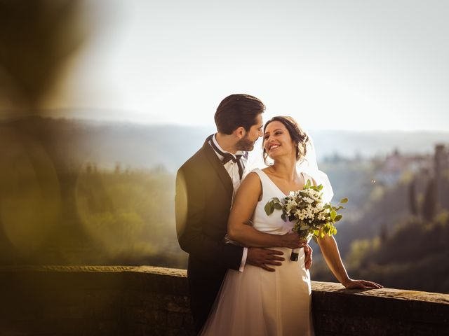 Il matrimonio di Simone e Vittoria a San Miniato, Pisa 49