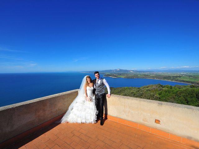 Il matrimonio di Christian e Natascia a Campiglia Marittima, Livorno 36