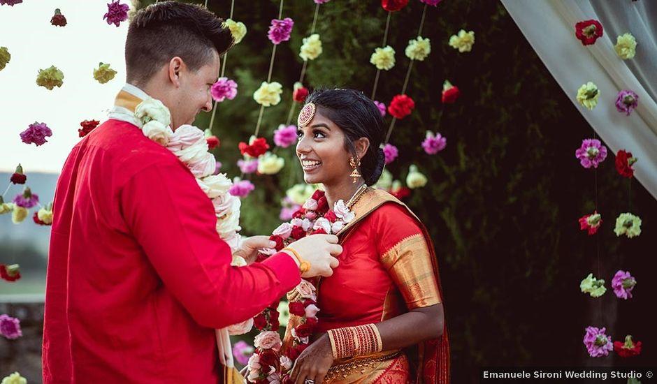 Il matrimonio di Ryan e Katrina a Rapolano Terme, Siena