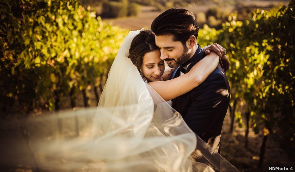Il matrimonio di Simone e Vittoria a San Miniato, Pisa
