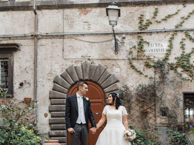 le nozze di Denise e Alessandro