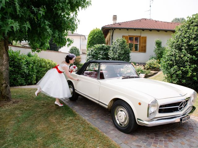 Il matrimonio di Cristiano e Paola a Velezzo Lomellina, Pavia 15