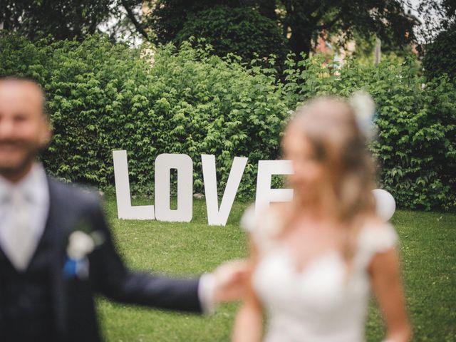 Il matrimonio di Diego e Sara a Corbetta, Milano 23