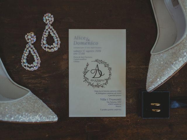 Il matrimonio di Domenico e Alice a Saludecio, Rimini 9