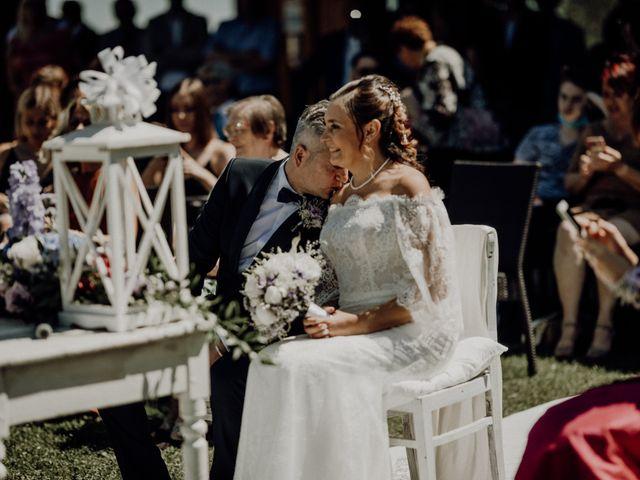 Il matrimonio di Laura e Carmine a Cocconato, Asti 34