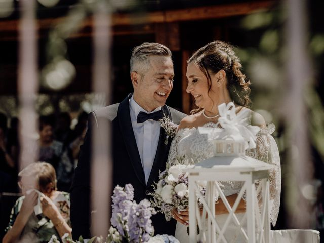 Il matrimonio di Laura e Carmine a Cocconato, Asti 35