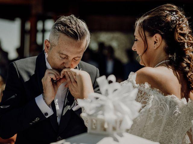 Il matrimonio di Laura e Carmine a Cocconato, Asti 41