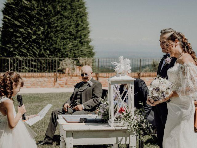 Il matrimonio di Laura e Carmine a Cocconato, Asti 42