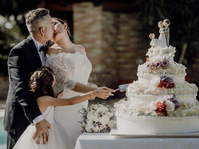 Il matrimonio di Laura e Carmine a Cocconato, Asti 79