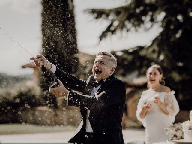 Il matrimonio di Laura e Carmine a Cocconato, Asti 81