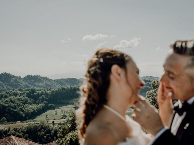Il matrimonio di Laura e Carmine a Cocconato, Asti 85