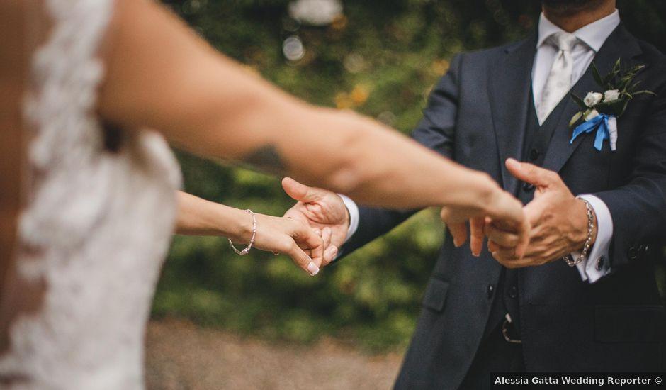 Il matrimonio di Diego e Sara a Corbetta, Milano