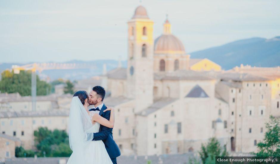 Il matrimonio di Domenico e Alice a Saludecio, Rimini