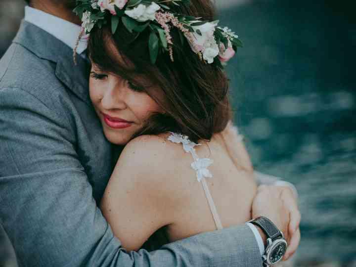 le nozze di Ilaria e Giordano