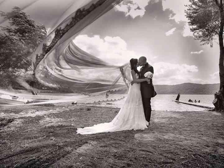 le nozze di Anita e Davide