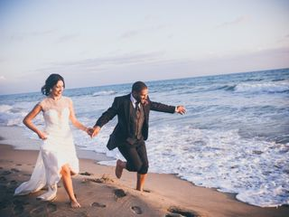 Le nozze di Simona e Mohamed